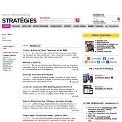 GAFA - Stratégies.fr