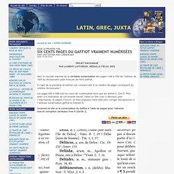 Lexicon recentis latinitatis