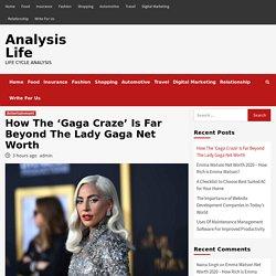 How The 'Gaga Craze' Is Far Beyond The Lady Gaga Net Worth
