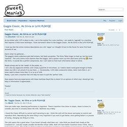 Gaggia Classic, Ms Silvia or Le'lit PL041QE - Sweet Maria's Web Forum