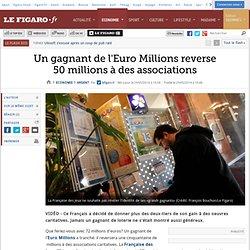 Un gagnant de l'Euro Millions reverse 50millions à des associations