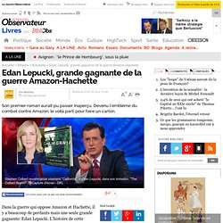 Edan Lepucki, grande gagnante de la guerre Amazon-Hachette
