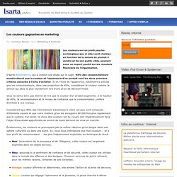 Les couleurs gagnantes en marketing – Isarta – Infos : Communications et Web