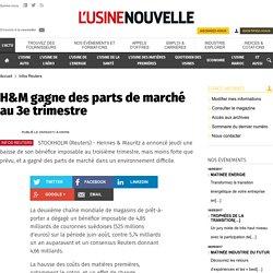 H&M gagne des parts de marché au 3e trimestre