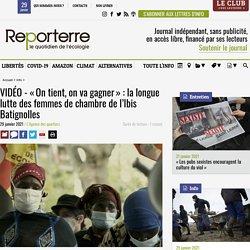 VIDÉO - «On tient, on va gagner»: la longue lutte des femmes de chambre de l'Ibis Batignolles