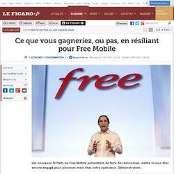 Consommation : Ce que vous économiserez en résiliant pour Free Mobile