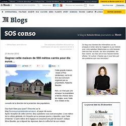 Gagnez cette maison de 500 mètres carrés pour dix euros…