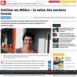 Gaillan-en-Médoc : le salon des auteurs locaux