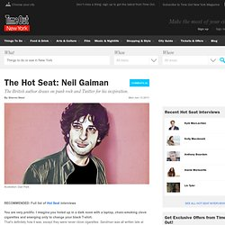 The Hot Seat: Neil Gaiman - Arts + Culture - Time Out New York