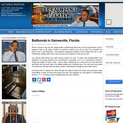 Bail bonds in Gainesville, Florida