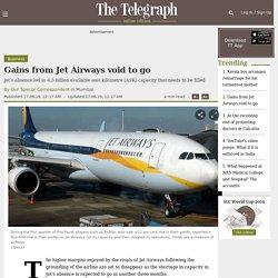 Gains from Jet Airways void to go