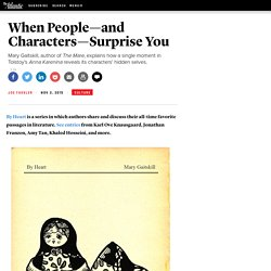 Mary Gaitskill on 'Anna Karenina' and the Key to Writing Good Characters