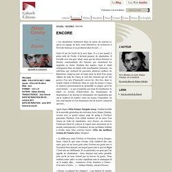 Galaade Éditions : Encore par Hakan Günday