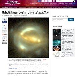 Galactic Lenses Confirm Universe's Age, Size