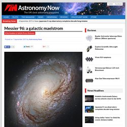 Messier 96: a galactic maelstrom