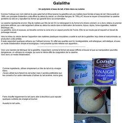 Galalithe