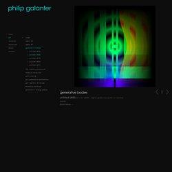 Philip Galanter » Art » Generative Bodies » Untitled (#53)