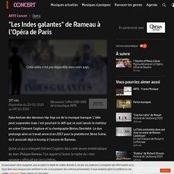 """""""Les Indes galantes"""" de Rameau à l'Opéra de Paris"""