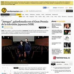 """""""Arrugas"""", galardonada con el Gran Premio de la televisión japonesa NHK – Cine – Noticias, última hora, vídeos y fotos de Cine en lainformacion"""