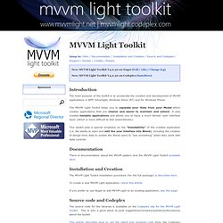 MVVM Light Toolkit