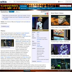 Galatea - DCAU Wiki: your fan made guide to the DC Animated Universe