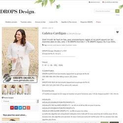 Galatea Cardigan / DROPS 220-4 - Modèles tricot gratuits de DROPS Design