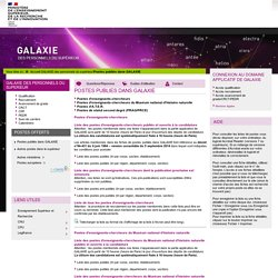Galaxie - PRCE Documentation