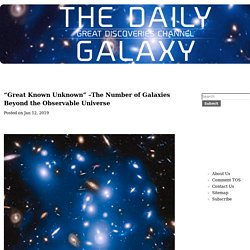 The Number of Galaxies Beyond the Observable Universe