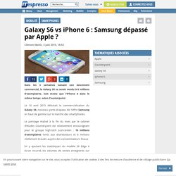 Galaxy S6 vs iPhone 6 : Samsung dépassé par Apple ?