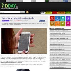 Galaxy S4, assicurazione Kasko in Italia