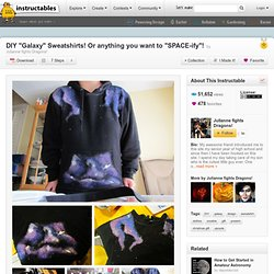 Galaxy on Clothes