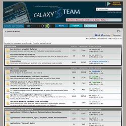 Le forum francophone des Galaxy S, S2, S3, Note et Note 2
