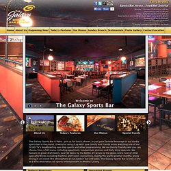 The Galaxy Sports Bar | Sports Bars in Akron, Wadsworth, Medina, Akron, Fairlawn