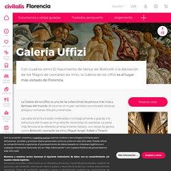 Galería Uffizi - Horario, precio y localización en Florencia