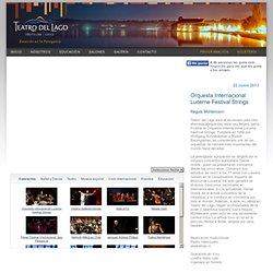 Galeria Videos Teatro del Lago