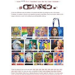 Galerie de l'artiste peintre franco-américaine Gwenn Seemel.