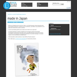made in Japan (Lucie Albon) - Galerie Le Bocal - Atelier - Expositions - Lyon