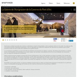 La Galerie de l'Aurignacien : muséographie innovante