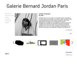 CUZIN, Christophe - Galerie Bernard Jordan -