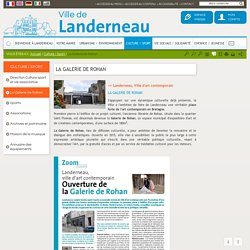 La Galerie de Rohan / Landerneau