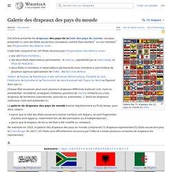 Galerie des drapeaux des pays du monde