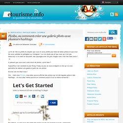 Picsho, ou comment créer une galerie photo avec plusieurs hashtags