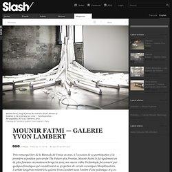 Mounir Fatmi—Galerie Yvon Lambert — Critique