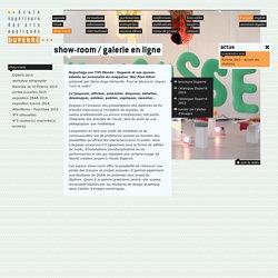 show-room / galerie en ligne