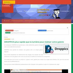 Galeries d'images - DROPPICS - strategie-joomla