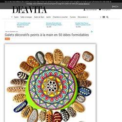 Galets décoratifs peints à la main en 50 idées formidables