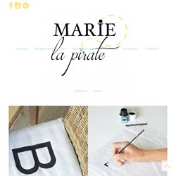DIY GALETTE DE CHAISE - Marie la Pirate