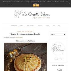 Galette de rois sans gluten au chocolat - La Cassata Celiaca