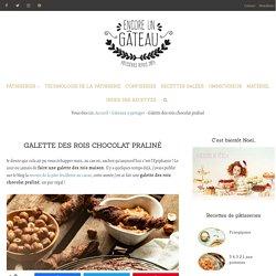Galette des rois chocolat praliné