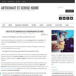 Galettes de sarrasin aux champignons de Paris